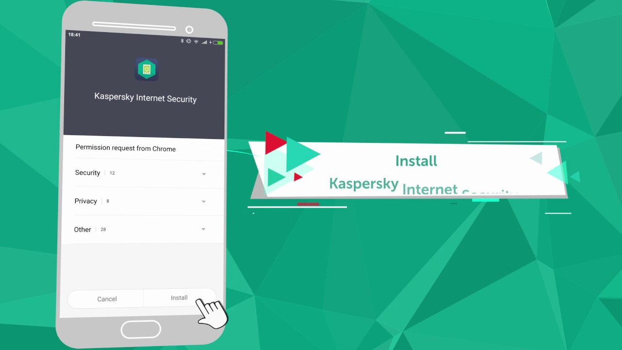 Kaspersky Internet Security for Android Installation Tutorial