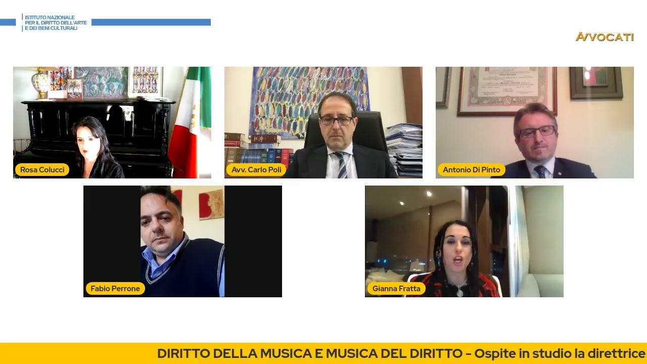 DIRITTO DELLA MUSICA E MUSICA NEL DIRITTO - Webinar a cura di INDAC