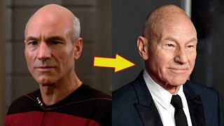 star trek the next generation then and now