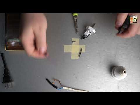 Замена штепсельной вилки