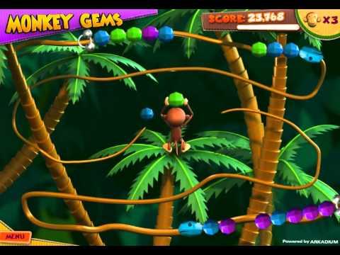 Monkey Gems - Zuma