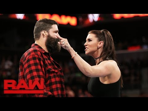Thumbnail: Stephanie McMahon fires Mick Foley: Raw, March 20, 2017