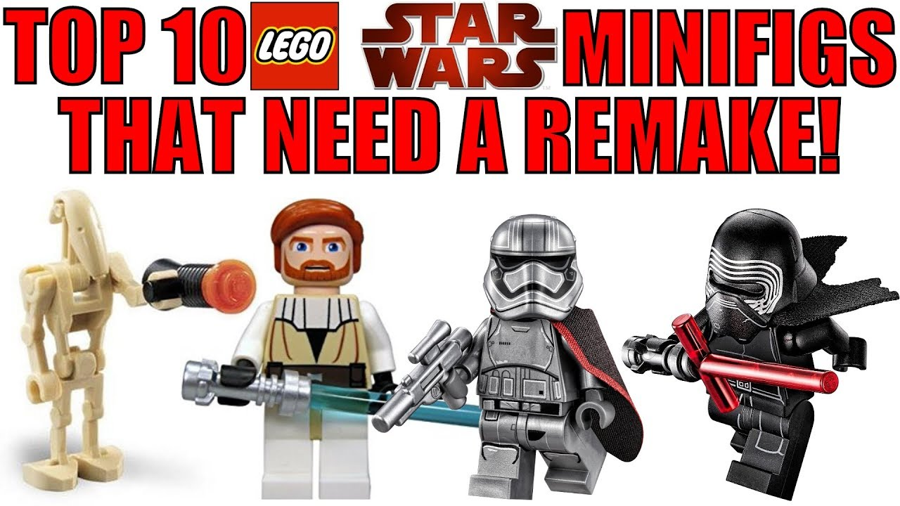 Top 10 Lego Star Wars Minifigures That Need A Remake Youtube