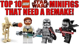 Top 10 LEGO Star Wars Minifigures That Need A Remake!