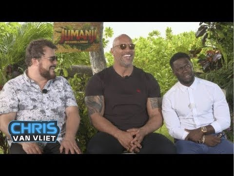 The Rock, Kevin Hart & Jack Black attempt the People's Eyebrow, Would Dusty Rhodes beat The Rock?
