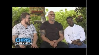 Baixar The Rock, Kevin Hart & Jack Black attempt the People's Eyebrow, Would Dusty Rhodes beat The Rock?