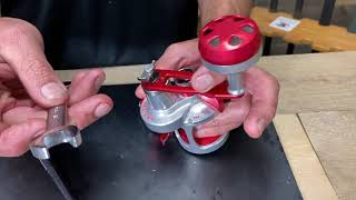 How To Install The SPJ Handle Kit Onto Your Single or 2-Speed Reel.