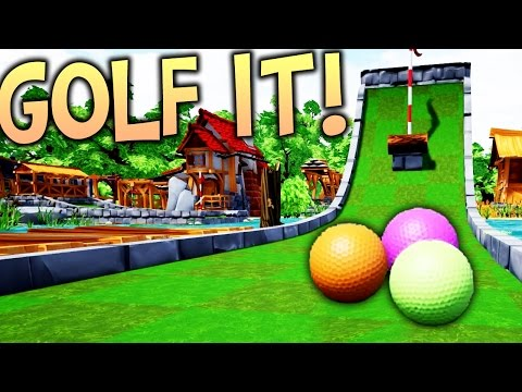 Golf It! - New Multiplayer Golf Game! Golf It Gameplay - Funny Moments