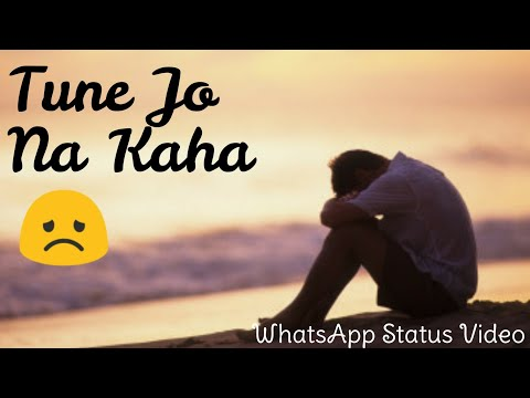 Emotional WhatsApp Status Video 30 Seconds | Tune jo na kaha by Real Monk