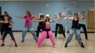 """Feel this moment"" by Pitbull ft. Christina Aguilera *WARM-UP for Dance Fitness*"