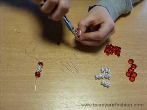 Schmuck herstellen  Schmuck herstellen - Technik 4: Eine Perlentraube herstellen - YouTube
