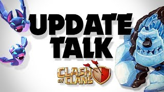 Clash of Clans Winter Update Summary PLUS NEW Ice Golem Attack
