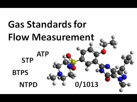 Gas Standards for Flow Measurement