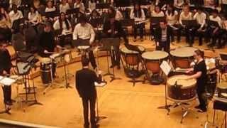 """Carlos Chávez """"Toccata for Percussion Instruments, III. Alegro un poco marziale, vivo"""""""