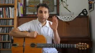 Gypsy Jazz Guitar - Introduction to Arpeggios and the Rest Stroke Picking