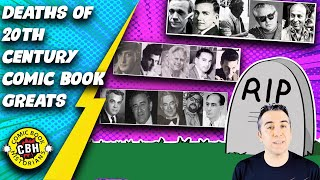 Ep. 41. Deaths of the 20th Century Comic Book Greats by Alex Grand