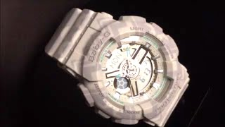 CASIO BABY-G Tribal Pattern カシオ腕時計ベビーG 限定品 BA-110TP-8AJF