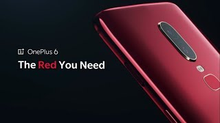 OnePlus 6 Red Edition First Look Exclusive !!