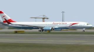 Fs2004: Austrian Airlines 767-300(w) Vienna to Toronto HD