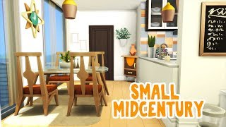 Small Mid Century || The Sims 4 Apartment Renovation: Speed Build