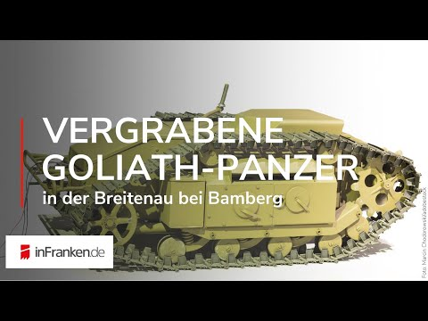 Bamberg Vergrabene Goliath Panzer In Der Breitenau Youtube