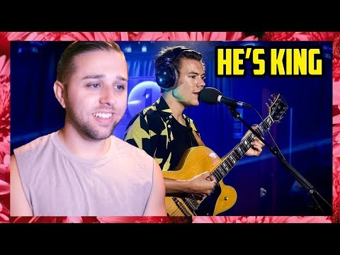 HARRY STYLES - THE CHAIN (FLEETWOOD MAC COVER) IN THE LIVE LOUNGE (REACTION)