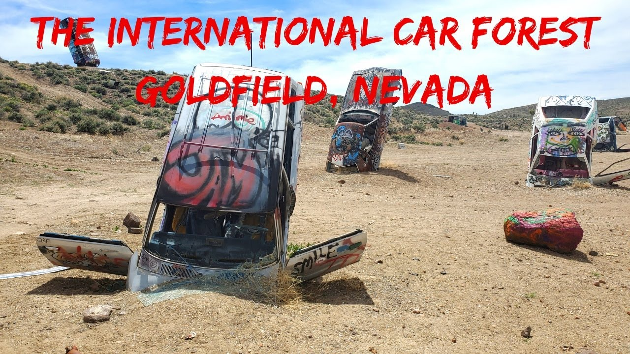 The International Car Forest Goldfield Nevada Youtube
