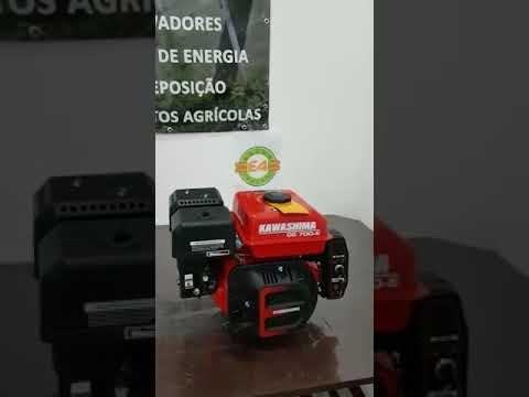 MOTOR EST. KAWASHIMAGE 700-E - 7 HP / GASOLINA P. ELÉTRICA