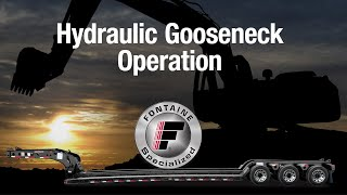 Download Video Fontaine Heavy Haul Hydraulic Gooseneck Operation MP3 3GP MP4