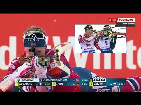 Biathlon - Martin Fourcade remporte l'individuel Ruhpolding 2018