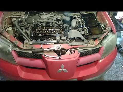 Замена прокладки клапанной крышки и ремонт. Mitsubishi Outlander 1 4g64 американец MD310913