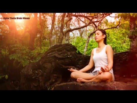 Alpha Theta Brainwaves Meditation to Eliminating Negative Thinking, Stress and Fear  Mind Cleaner
