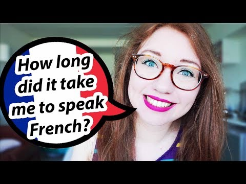 How long did it take me to SPEAK French? | Self-taught Frenc