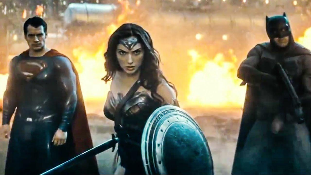 Batman V Superman Dawn Of Justice Official Trailer 2 2015 Ben Affleck Henry Cavill Movie HD