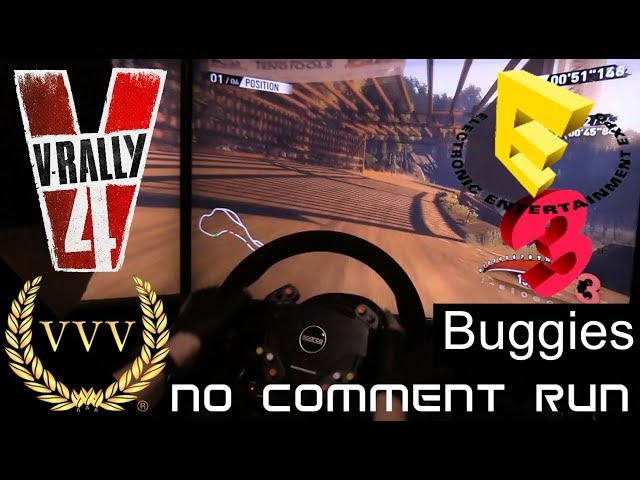 V Rally 4 | Gameplay E3 2018 | Buggies no comment run