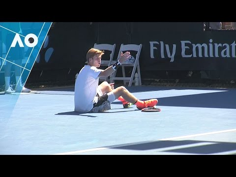 Rublev v Lu match highlights (1R) | Australian Open 2017