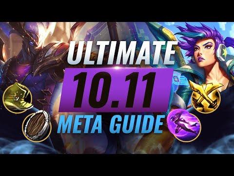 HUGE META CHANGES: BEST NEW BUILDS For EVERY Role - League of Legends Patch 1011