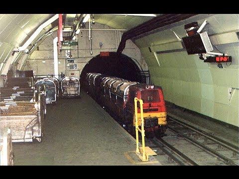 London's Post Office Railway Mail Rail June 1996