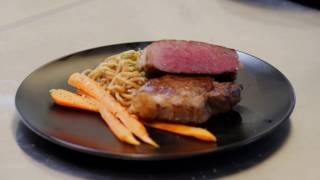 How to cook a Japanese Wagyu steak - Pan fry and oven