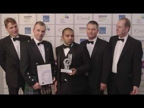 Supplying gas to over 100,000 UK homes - IChemE's Team of the Year 2016