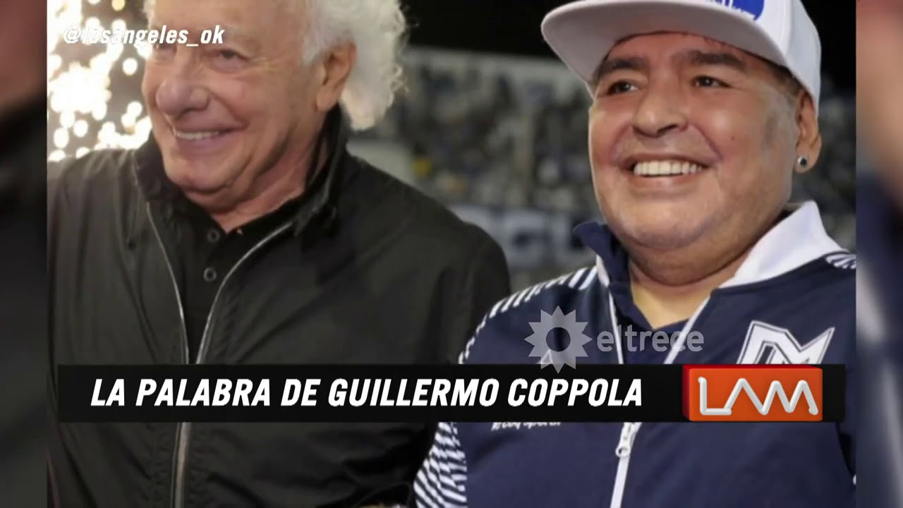 Guillermo Coppola opinó sobre Matías Morla y los derechos de la marca Maradona