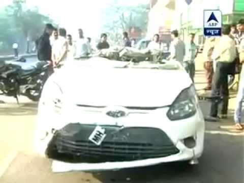Horrible car accident in Bombay Maharashtra