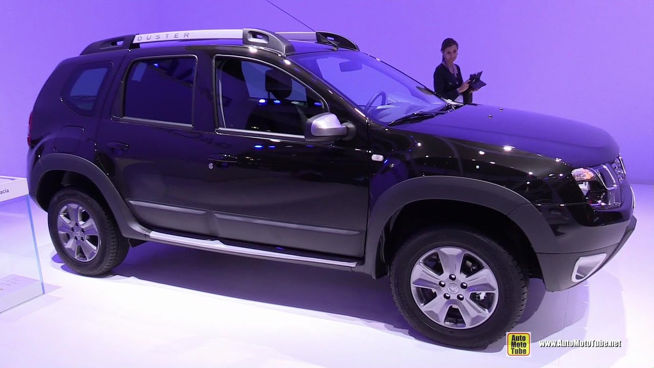 2015 Dacia Duster - Exterior and Interior Walkaround - 2014 Paris ...