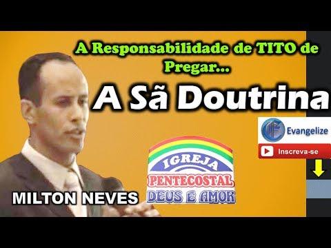 Pr MILTON NEVES - A Responsabilidade de...
