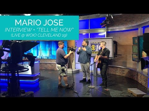 Mario Jose Interview + Performance on WOIO Channel 19 Cleveland