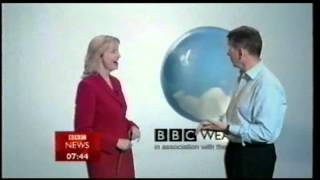 Repeat youtube video Preview of New BBC Weather Graphics - 2005