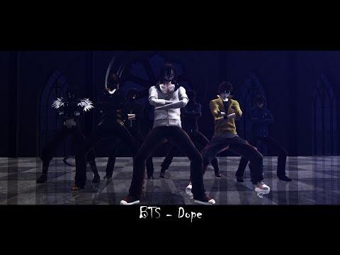 (•MMD•Creepypasta•) BTS - Dope