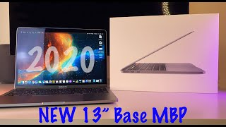 """NEW Apple 13"""" MacBook Pro (Baseline 2020 Model) - Unboxing & Review 