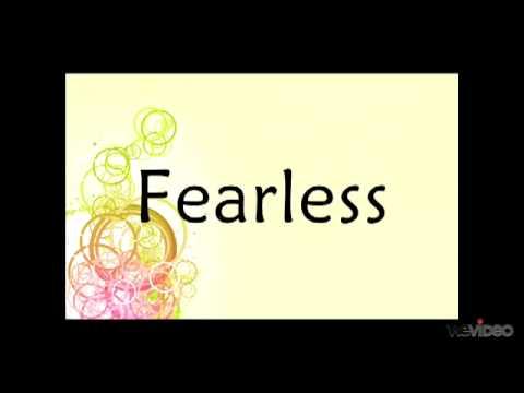 Taylor Swift-Fearless Lyrics!