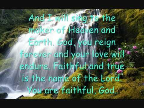 Faithful-Chris Tomlin lyrics